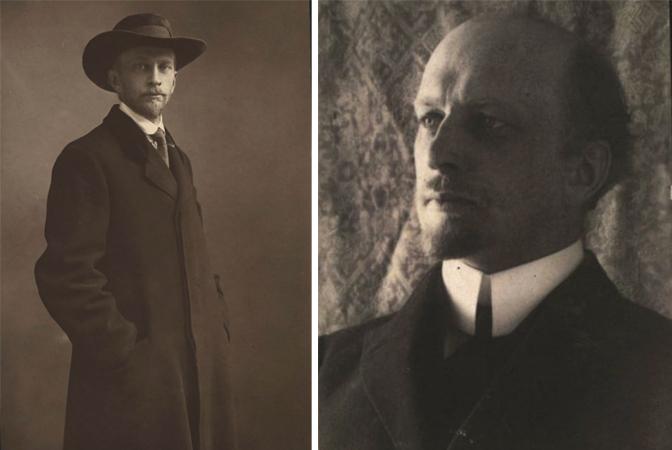 Иван Ильин в 1922 и 1925 г.