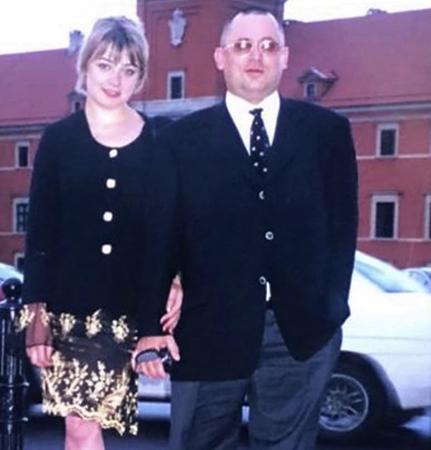 С первой женой Ириной (2002)