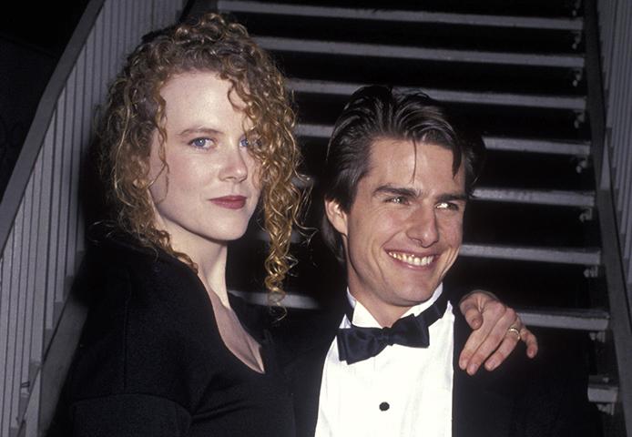 Со второй женой Николь Кидман
