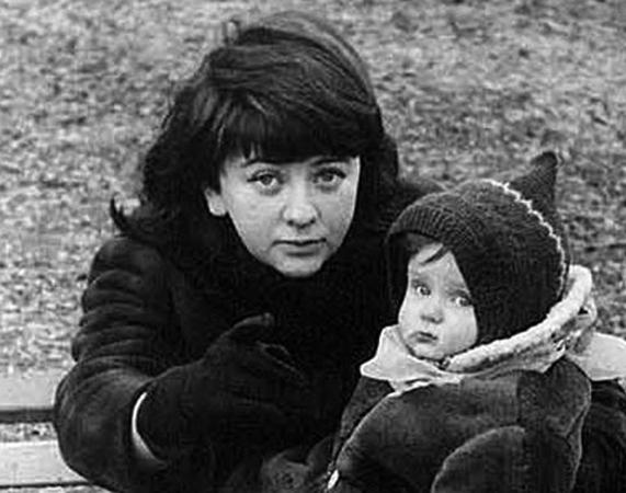 С дочерью Кирой