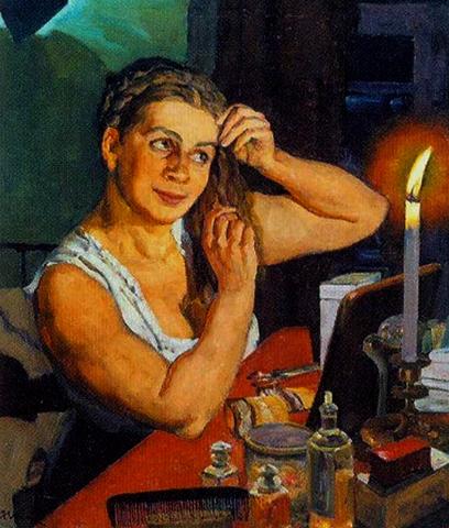 Портрет жены Клавдии