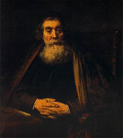 Портрет Рембрандта, возможно Коменского