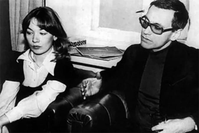 Елена Коренева и Андрей Кончаловский