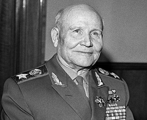 Маршал Советского Союза И.С. Конев
