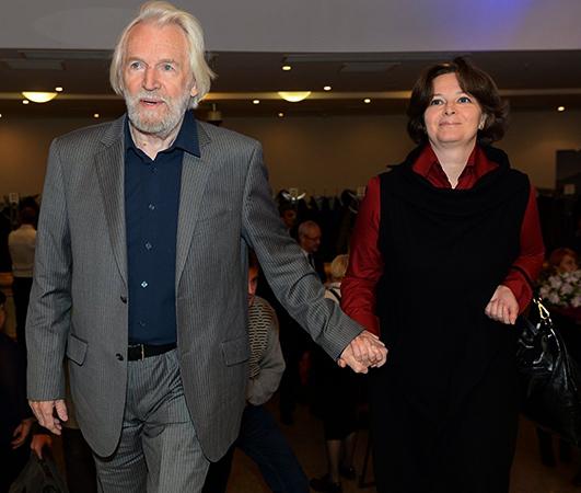 Станислав Любшин и Ирина Корнеева
