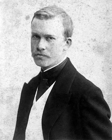 Борис Кустодиев (1900)