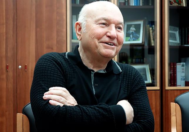 Юрий Лужков незадолго до смерти
