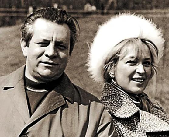 Клара Лучко и Дмитрий Мамлеев