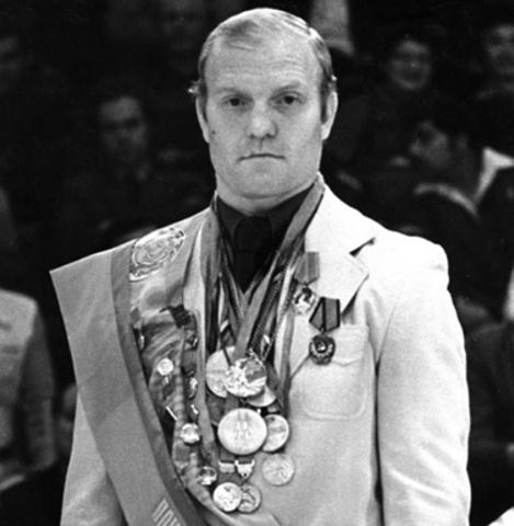 Иван Ярыгин с медалями