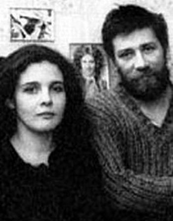 Со второй женой Мириам
