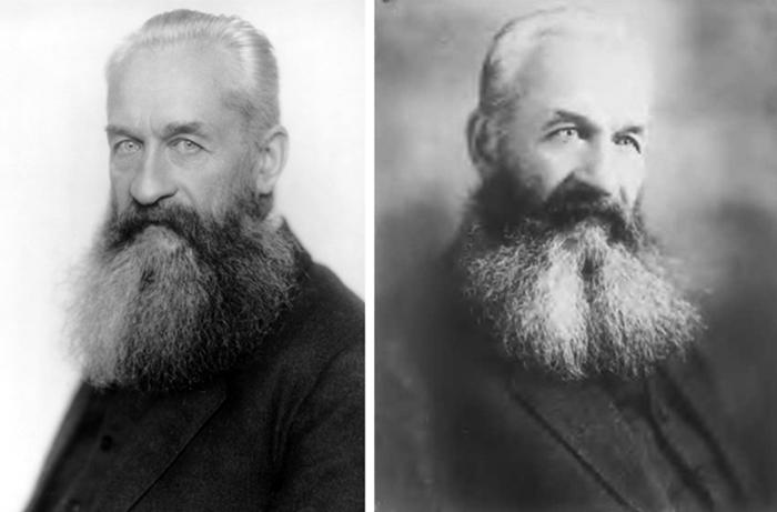 Георгий Львов в старости