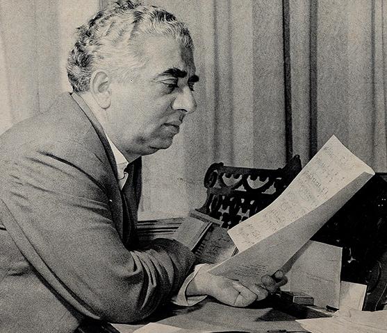 Арам Хачатурян в старости
