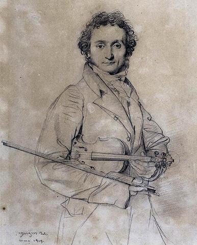 Никколо Паганини (портрет 1819 г.)