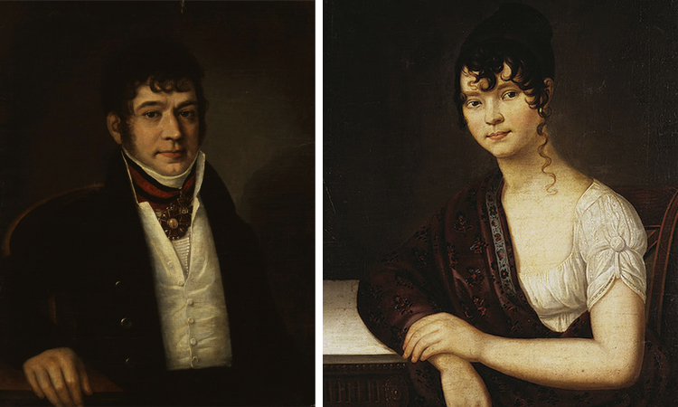 Родители — Платон Богданович и Елизавета Ивановна