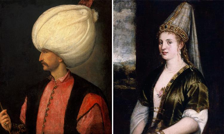 Родители — Сулейман l Великолепный и Хюррем-султан