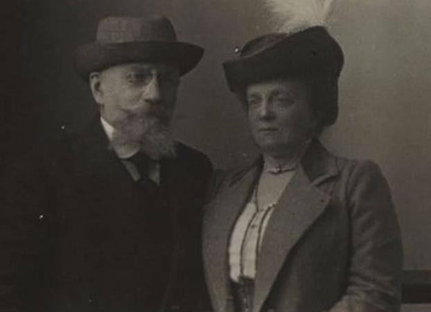 Родители — Александр Иванович Ильин и Каролина Луиза Швейкерт фон Штадион