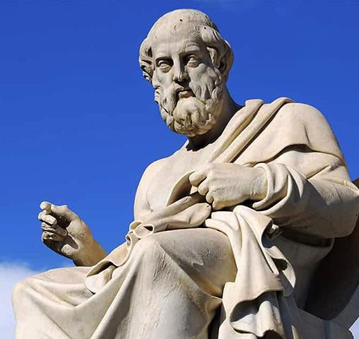 Статуя философа Платона
