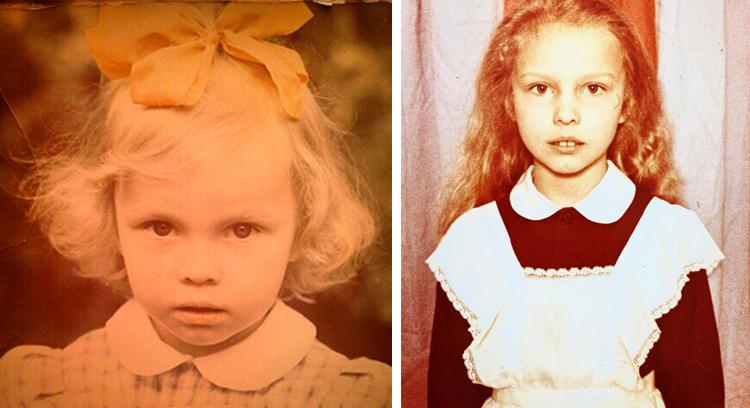 Полина Сыркина в детстве