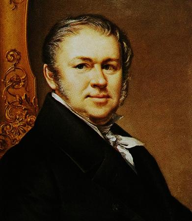 Портрет В. Тропинина