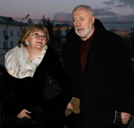 Алла Сурикова и Александр Поташников