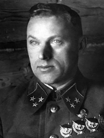 Константин Рокоссовский в 1941 г.