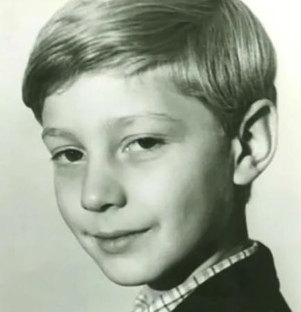 Дмитрий Шубин в детстве