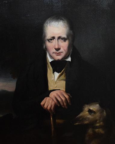 Портрет сэра Вальтера Скотта (1832)