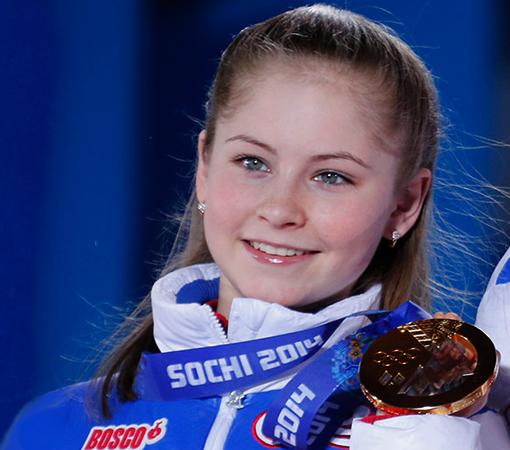 Юлия Липницкая на Олимпиаде в Сочи
