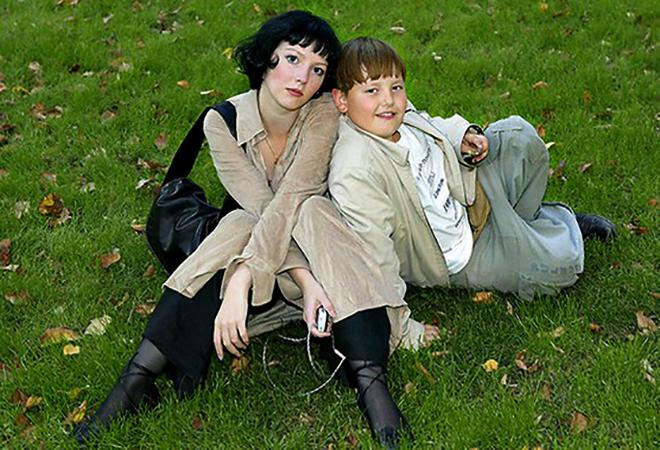 С сыном Никитой