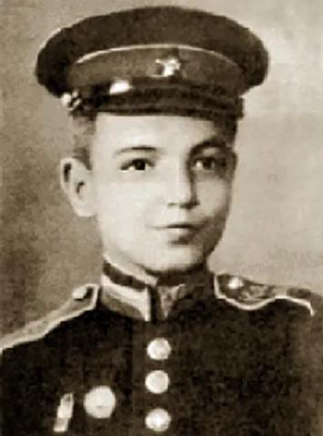Геннадий Шпаликов в детстве