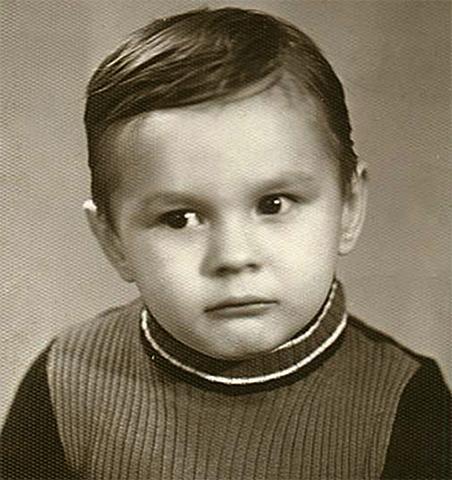 Влад Сташевский в детстве