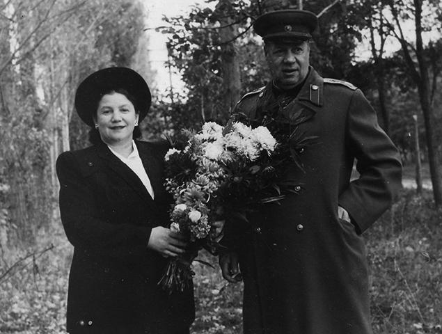 С женой Тамарой Евгеньевной