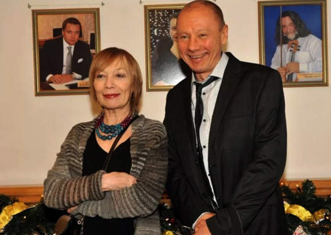 Елена Коренева и Андрей Ташков