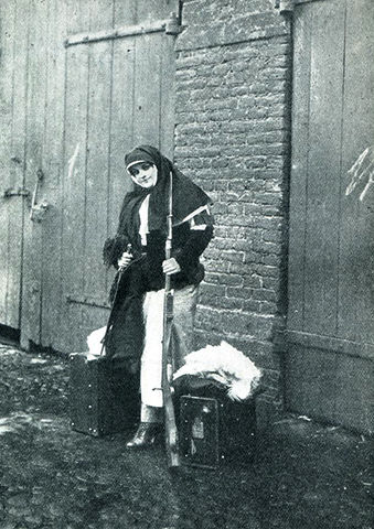Надежда Тэффи в годы первой мировой войны