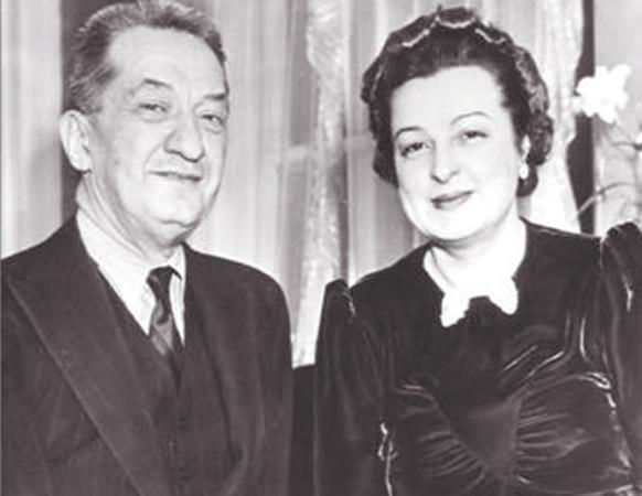 Александр Керенский и Лидия Триттон