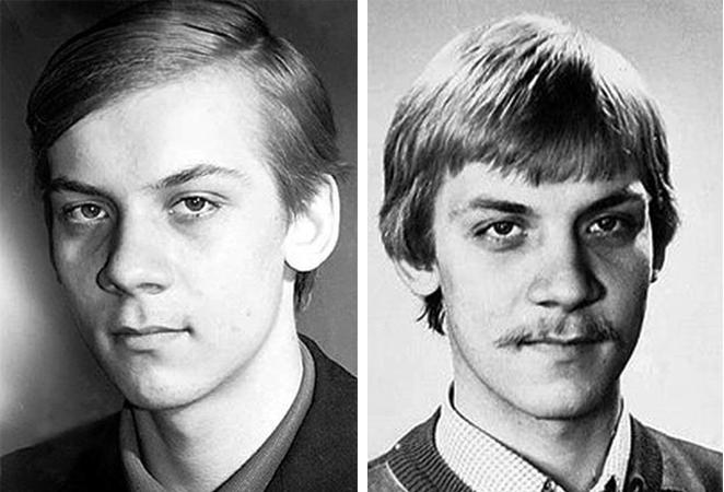 Виктор Раков в юности