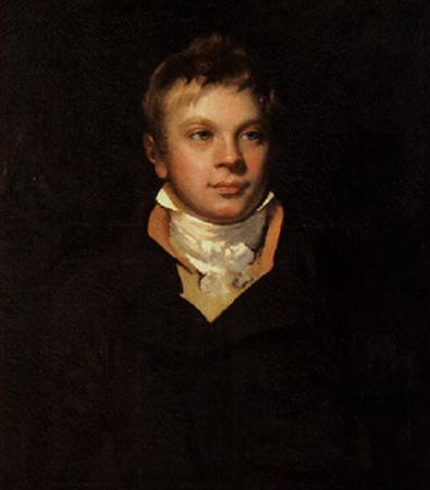 Вальтер Скотт в юности