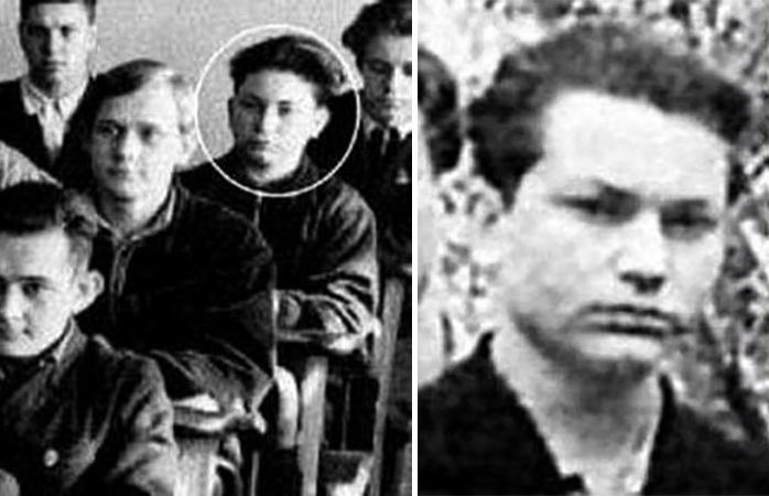 Юрий Лужков в юности