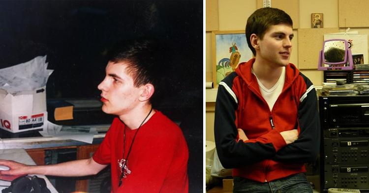 Дмитрий Борисов в юности