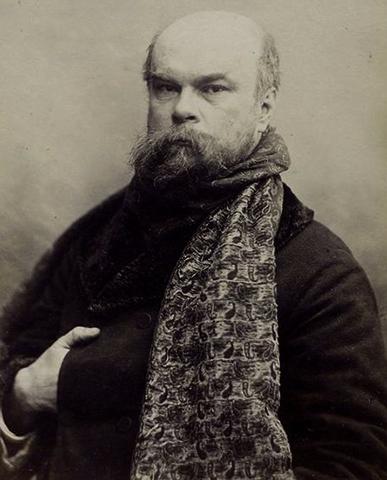 Поль Верлен в 1893