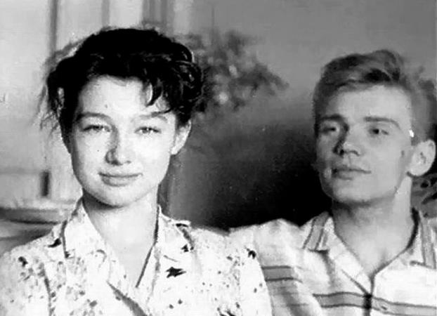Екатерина Максимова и Владимир Васильев в молодости