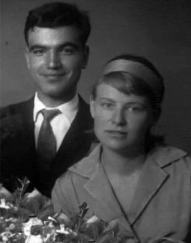 Геннадий Шпаликов и Наталия Рязанцева
