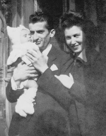 С Жанной Августиной и сыном Патриком