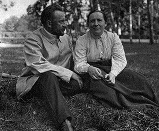Георгий Львов и Юлия Бобринская