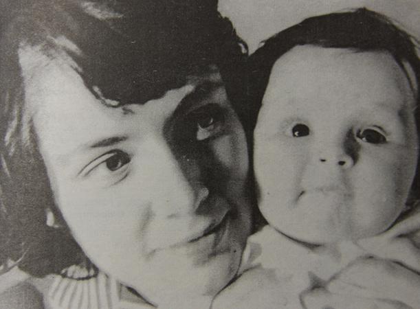 Вторая жена Ольга с дочерью Еленой