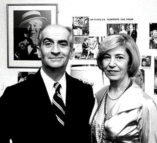 С женой Жанной