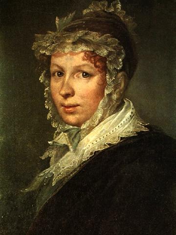 Портрет жены Анны (1809)