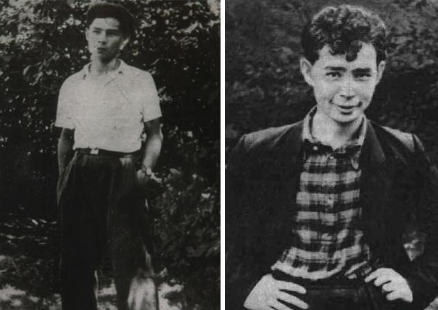 Александр Вампилов в молодости