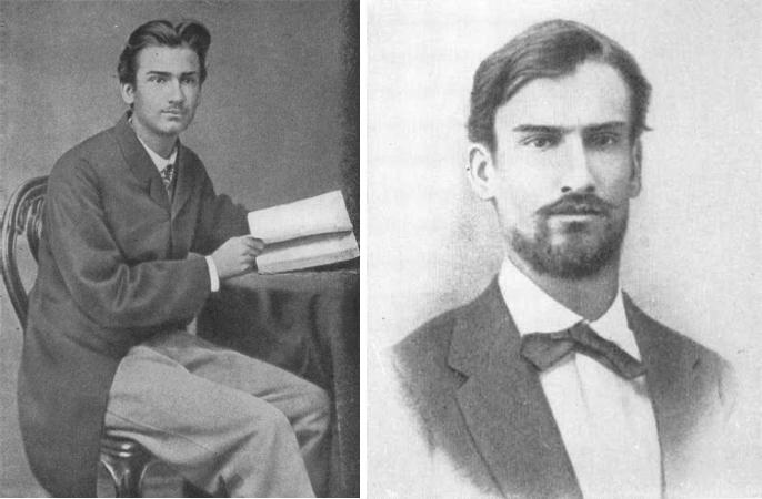 Николай Жуковский в молодости