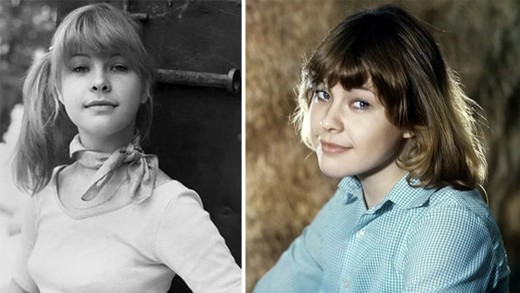 Татьяна Догилева в юности